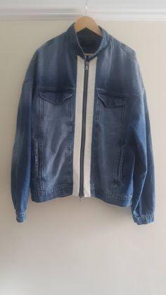 f04af395 Represent Clo. Selvedge Denim Jacket SS18 'SAMPLE' Size US L / EU 52