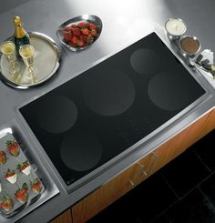 """GE PHP960SMSS Profile 36"""" Stainless Steel Electric Induction Cooktop Rated extremely high."""