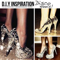 disco party decorations diy | DIY for Disco Divas! 10 DIY Ideas & Tutorials