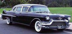 1957 Cadillac Limousine. www.romanworldwide.com #orangecountylimo #lacountylimo #247limo