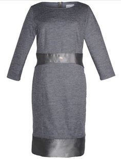 Shop navabi for beautiful Dresses - navabi is the home for premium plus size fashion. White Long Sleeve Dress, Gray Dress, Plus Size Dresses, Dresses For Work, Roberto Cavalli, Plus Size Fashion, Beautiful Dresses, Holiday, Shopping