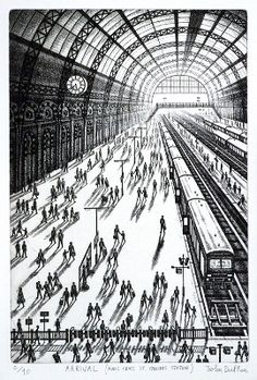 John Duffin - Arrival: King's Cross, St Pancras