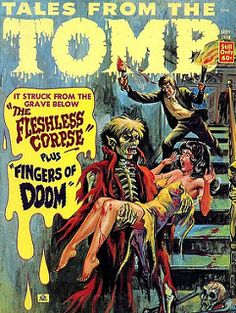 Tales from the Tomb - Vol. 5 #5 (Eerie Publications, 1973) | by Aeron Alfrey