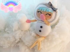 Kawaii Snow Doll