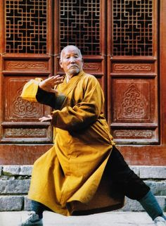 Shi Su Yan, 30th generation 'tiger of Shaolin Temple'.  Train tirelessly to defeat the greatest enemy,  your self,  and to discover the greatest master,  your self.