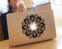 Blume Aufkleber Macbook Mac Aufkleber Aufkleber-Macbook pro Aufkleber Macbook Luft Aufkleber Aufkleber Mac Aufkleber / Sticker Tastatur Aufkleber