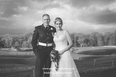 Bride and Groom @ Woodbury Park GC