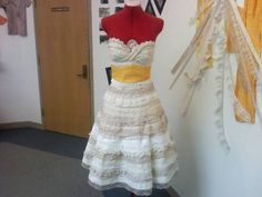 DIY Lace Prom Dress