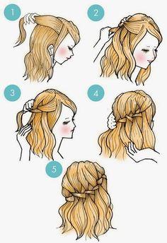 Mindegy, hogy rövid, félhosszú, vagy hosszú hajad van, az alábbi képsorok közül biztosan találsz olyan frizurát, amit - ha leköveted a bem...