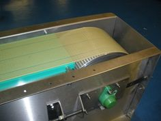 New conveyor belting application used for a company that required a belt conveyor to be integrated with their labelling machinery. C-Trak are always here to help you with your product handling and select the correct belt for your conveyors. Call now on 01525 850316