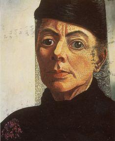 Charley Toorop (1891-1955), Self-portrait,