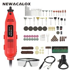 Engraving Rotary Tool Hand Driver Polishing Punching Kits for Craft Model of of Cutting Milling Drawing 15pcs Grinding Accessories Multifunction Grinder Tool Kit Trimming,2# Mini Electric Drill