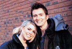 David Tennant & Billie Piper Named As Favourite Doctor and Companion Of All Time. Yes!!! <- YES.