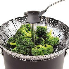 $17.99 OXO Good Grips® 11-Inch Pop-Up Steamer for vegetables