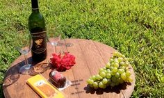 A sprawling vineyard evokes the Italian countryside with its hills, Tuscan-style villa, and variety of flavorful wines