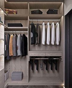 walk in closet design Wardrobe Design Bedroom, Bedroom Cupboard Designs, Bedroom Cupboards, Master Bedroom Closet, Bedroom Wardrobe, Wardrobe Closet, Walk In Closet Design, Closet Designs, Wardrobe Internal Design