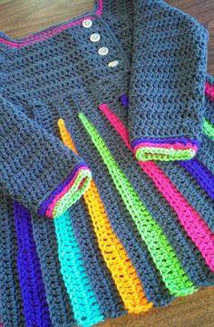 Eloise Girls Crochet Sweater...