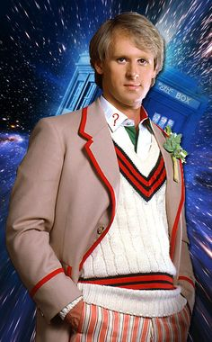 Doctor Who - Peter Davison FYI: In real life, the Fifth Doctor is now the father-in-law of the Tenth Doctor, after Davison's daughter Georgia Moffett married David Tennant in December Fifth Doctor, Twelfth Doctor, Geronimo, Peter Davison, Classic Doctor Who, Torchwood, Matt Smith, Time Lords, David Tennant