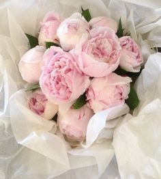 Fresh Peony Bouquet ~