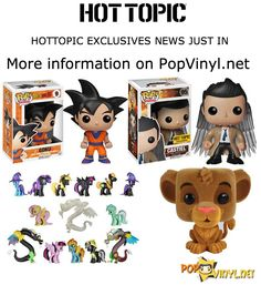 Hot Topic's Exclusive Funko POP's Surface - Visit http://popvinyl.net/pop-vinyl-news/hot-topic-exclusive-funko-pops-surface/ for more information