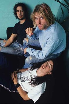 June 13th, 1991. Nirvana performs at the Warfield Theatre in San Francisco, California. Before the show, the band has a photo-shoot with Joe Giron