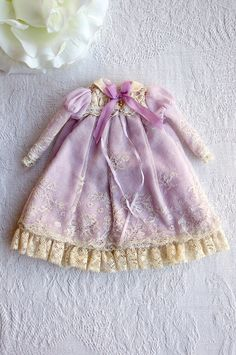 Lace and purple fabric for Annie (by Kikihalb)