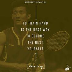 Latest Badminton Sports News,Updates-Today's News & Information O Train, Train Hard, Fitness Motivation Quotes, Monday Motivation, Fitness Goals, Olympic Gymnastics, Olympic Games, Chen Long, Dan Lin