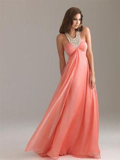 aee554ebf Las 36 mejores imágenes de Vestidos color Coral