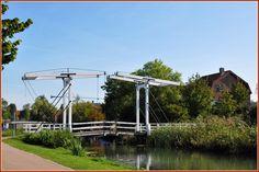 Puttershoek - brug over de vliet