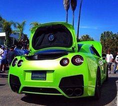 Nissan Gtr R35, Kermit, Godzilla, Dream Cars, Super Cars, Vehicles, Cars, Vehicle