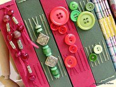 Handmade books by Wolfann, via Flickr