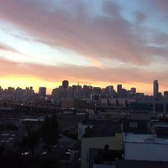 SF Sunset 6.16.12