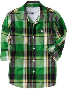 Boys Plaid Shirts