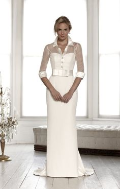 Wedding seperates, veils, jackets and belts to accentuate a wedding dress. Discover wedding dress accessories that will harmonise with your bridal gown. 2015 Wedding Dresses, Elegant Wedding Dress, Wedding Attire, Bridal Dresses, Wedding Gowns, Bridesmaid Dresses, Wedding Blog, Wedding Robe, Modest Wedding