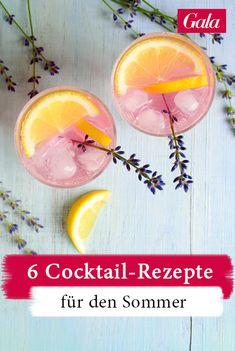 6 fruchtige Cocktail-Rezepte für den Sommer! #rezept #cocktail #sommergetränk #summerdrink Beste Cocktails, Grapefruit, Cantaloupe, Keto, Food, Tomatoes, Fruity Cocktails, Liquor, Summer