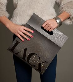 :: swoon :: Lack magazine in a clutch-like envelope