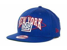 "New York Giants NFL New Era 9Fifty ""Geo Block"" Snapback Hat New #NewEra #NewYorkGiants"
