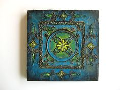 Odyssey  Original Abstract Textured Painting on by ChingTeoh