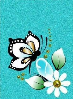 Butterfly Pictures, Butterfly Cards, Clay Flower Pots, Beadwork Designs, Mushroom Art, Diy Artwork, Vector Flowers, Butterfly Wallpaper, Hand Embroidery Designs