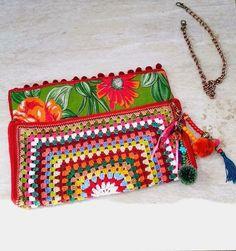 Bolsa/Carteira de crochê Joplin - comprar online