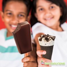 Ice Cream can be incorporated into a healthy diet. Learn more about Hershey's® Smart Snacks, including our Fudge-O Bar and Cookies & Cream Cone at http://www.hersheyicecream.com/smartsnacksinschools/products.html