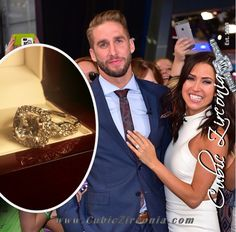 *Clearance* Cubic Zirconia Engagement Ring- TCW Celebrity Replica Ring in White Gold Kaitlyn Bristowe, Celebrity Engagement Rings, Cubic Zirconia Engagement Rings, White Gold, Ship, Celebrities, Celebs, Ships, Celebrity
