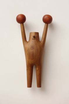 Quirky Cartoon Toys carved from Wood by Yen Jui-Lin Wood Sculpture, Sculptures, Baby Toys, Kids Toys, Wood Crafts, Diy And Crafts, Decor Scandinavian, Baby Kind, Designer Toys