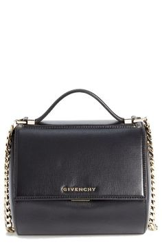 9a9ac145c86 Givenchy 'Mini Pandora Box' Leather Shoulder Bag available at #Nordstrom  Nine Zero One