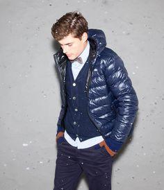#Puffy #jacket #cardigan #menswear #menstyle