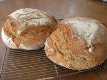 Whole Grain German Graubrot - German Bread Recipe -Sourdough Rye and WheatBread