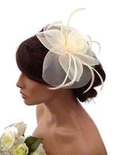 Clip Synthetic Fascinators & Headpieces for Women Fascinator Diy, Fascinator Hairstyles, Fascinators, Bridal Headpieces, Tea Hats, Fancy Hats, Hair Ornaments, Derby Hats, Headgear