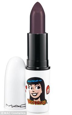 Toying with trying darker lip shades but seeing as winter's almost overI'm not 100% sure? This is forever catching my eye though! - Veronica lips -- New Mac make-up collection inspired by Betty & Veronica comics