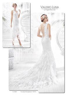 Vestidos de novia valerio luna 2019