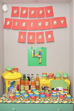 Lego party Theme Parties, Party Themes, Lego, Calendar, Holiday Decor, Classic, Home Decor, Themed Parties, Derby